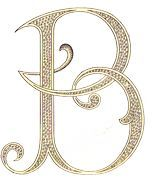 Monogram Letter B For My Sis In Law Becky Love Letters Monogram