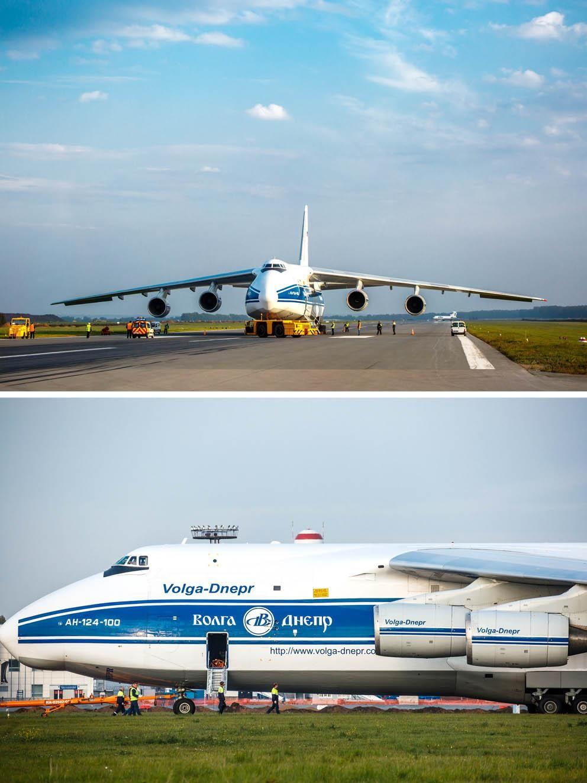 VolgaDnepr Group on Cargo aircraft, Aircraft, Civil