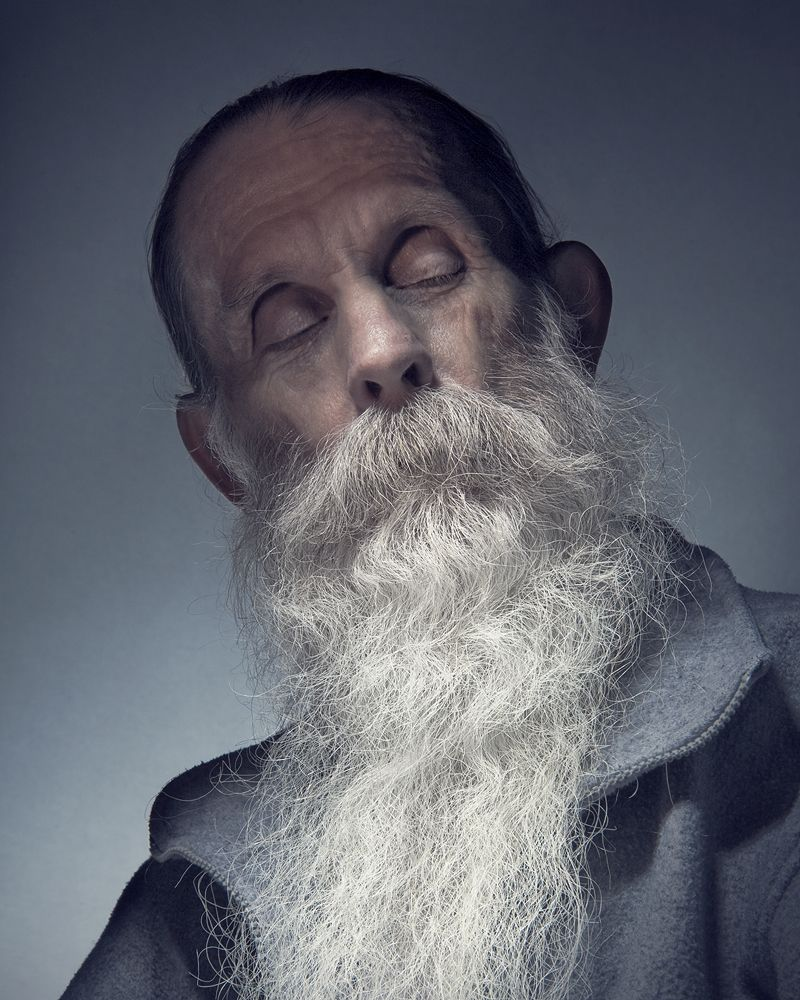 Wonderful portrait of white bearded man. | Old man face ...Old Man Face Beard