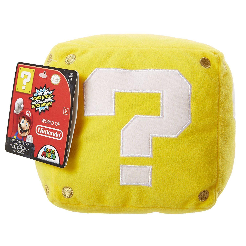 Nintendo Plüschfigur mit Sound Coin Box | Super Mario Kinderzimmer ...