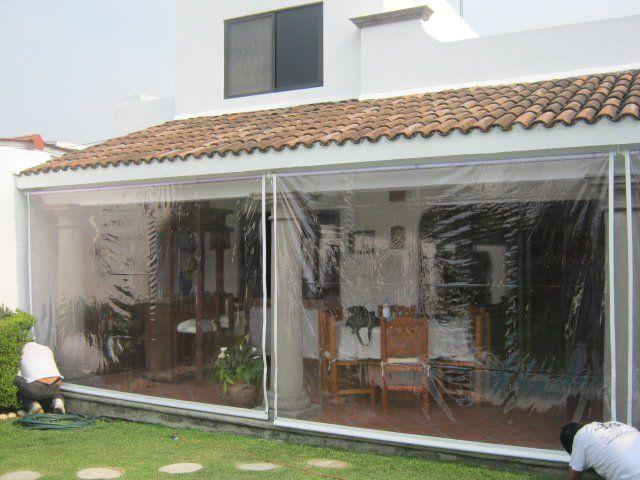 decoracion terraza cortinas exteriores