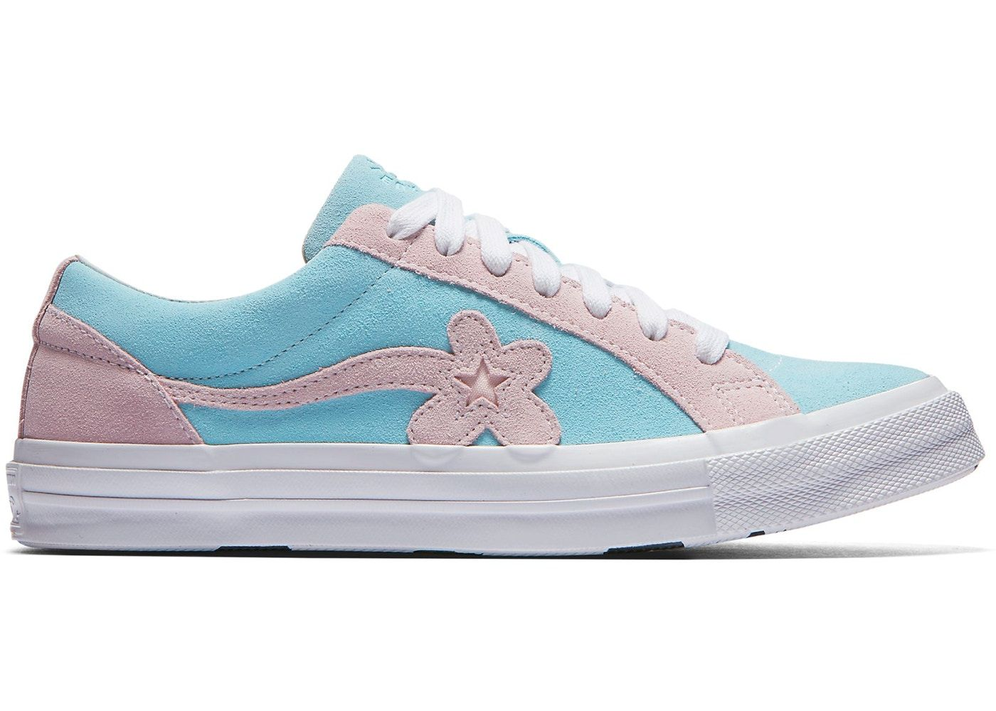 97df30ccd5b118 Converse One Star Ox Tyler the Creator Golf Le Fleur Light Blue Pink ...