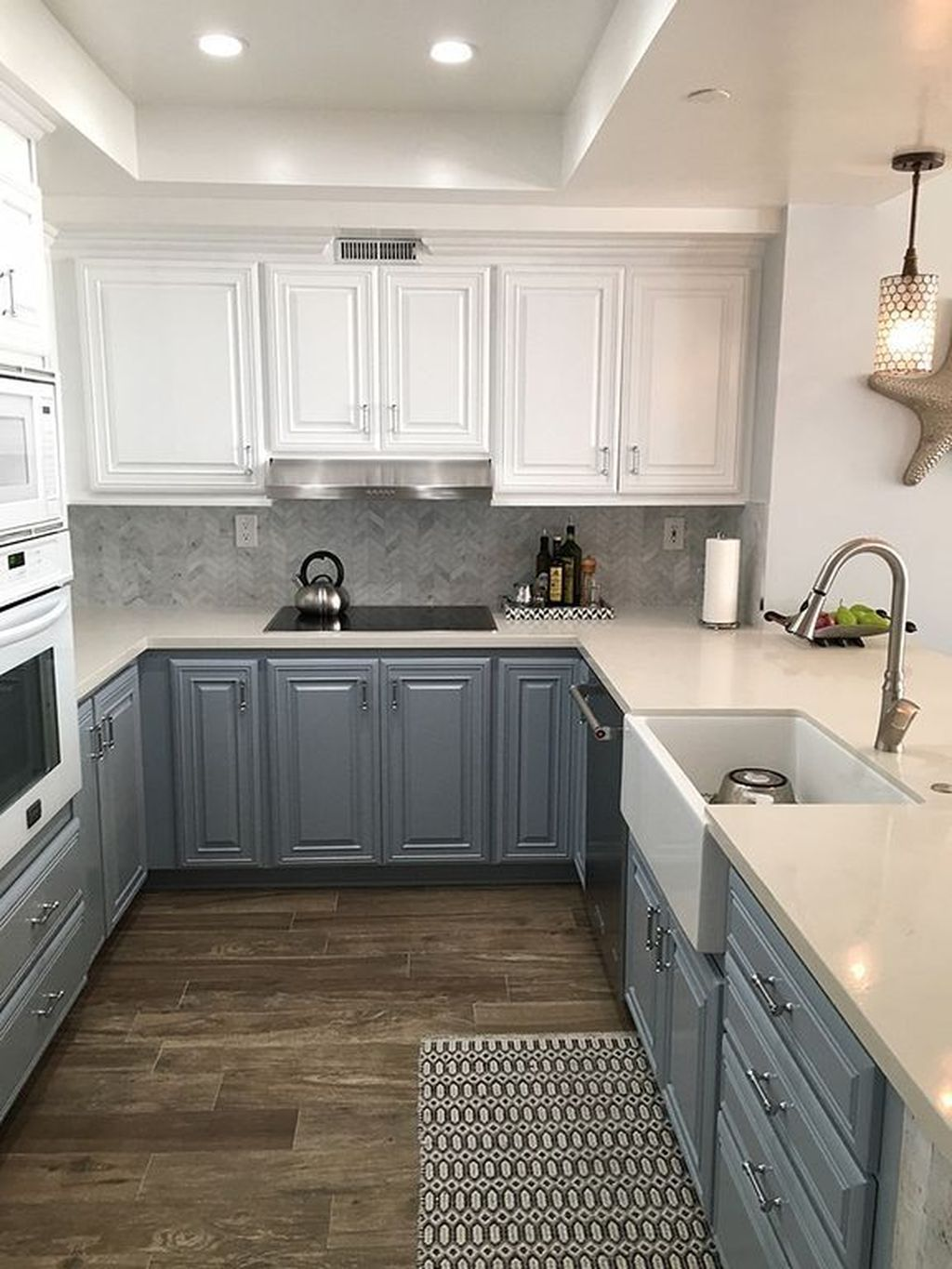 Remodeling Your Upper Cabinet Boxes 31 Fresh Ideas The Basics Of Upper Cabinet Boxes Wonderi Kitchen Lighting Remodel Kitchen Remodel Kitchen Ceiling Lights