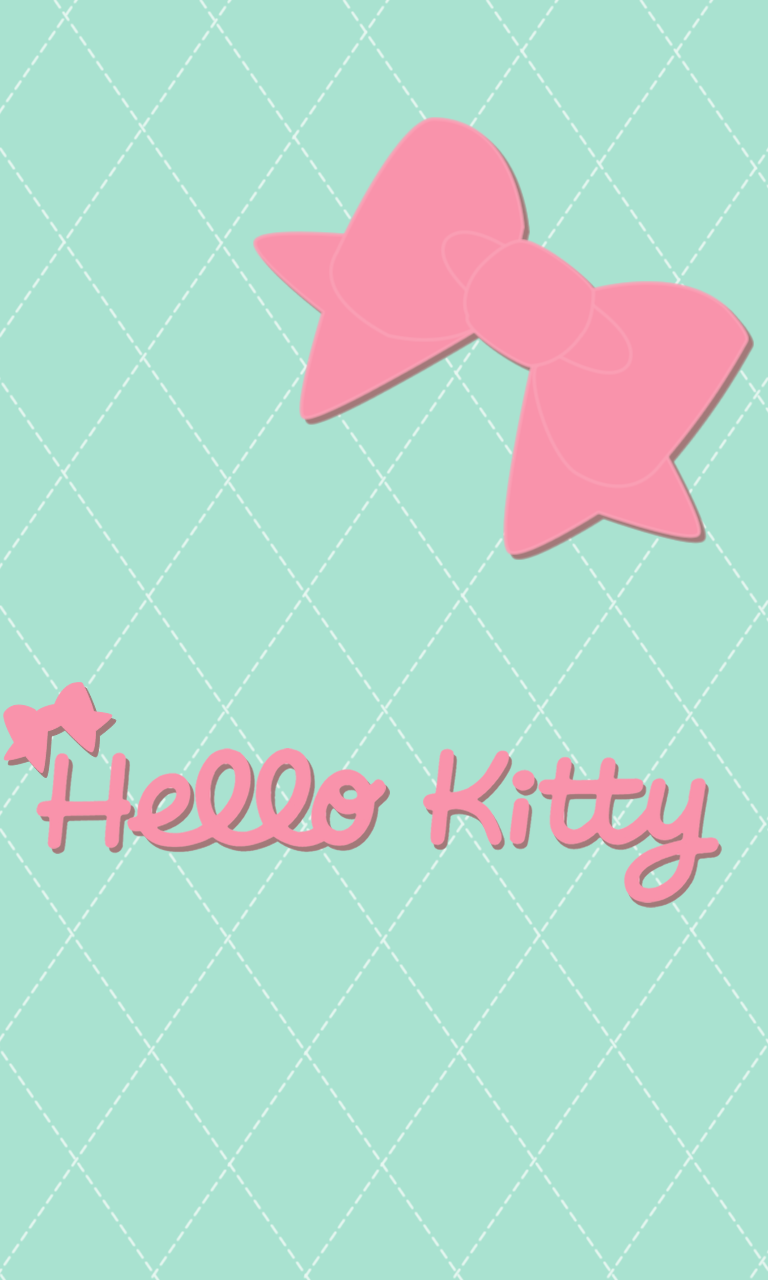 Fantastic Wallpaper Hello Kitty Mint Green - 17a5480a00390d6e7c835fc4b960592b  Image_542472.png