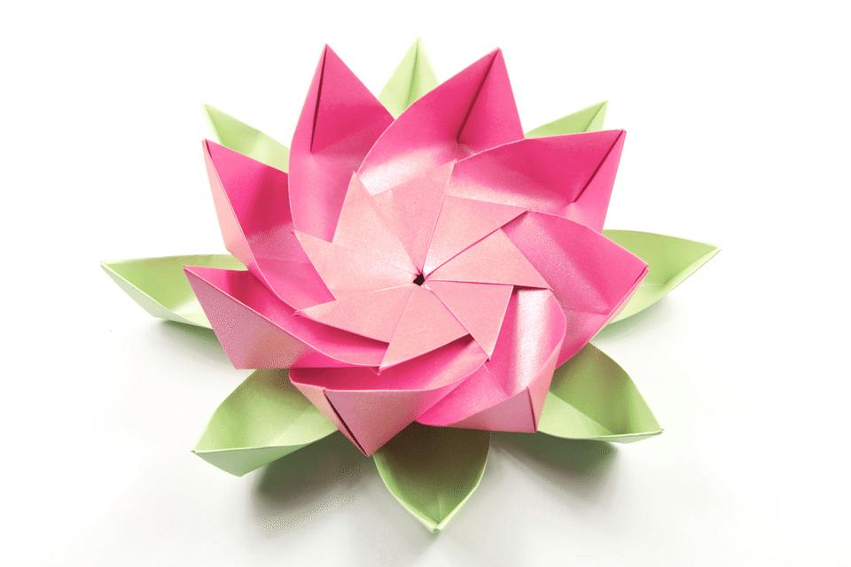 Decorative Origami Lotus Flower Modular Origami Origami And Lotus