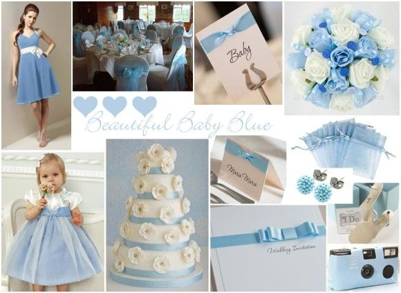 10 Awesome Wedding Colors Baby Blue And Silver Images