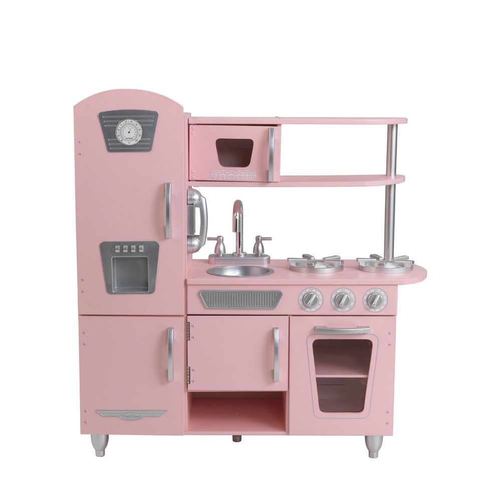 Kidkraft Küche Retro Rosa Kidkraft Vintage Kitchen Pink In 2019 Products Kidkraft
