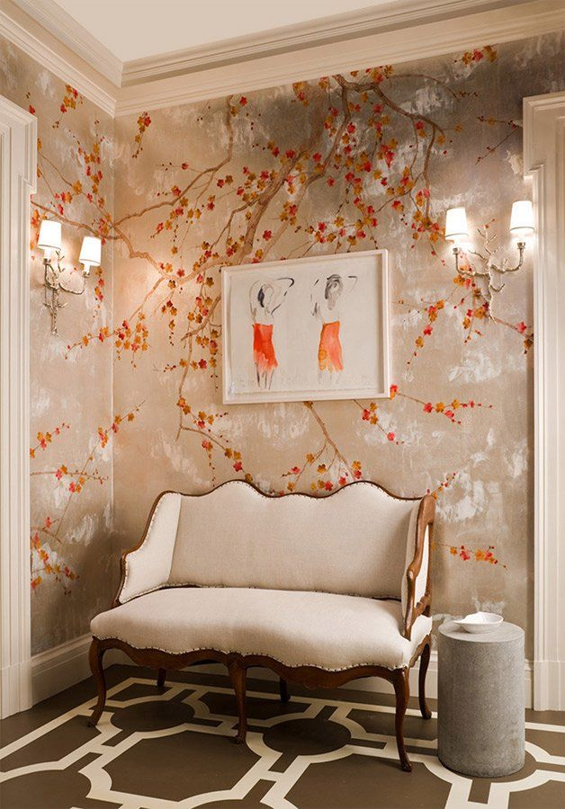 U0027Kiso Mountainsu0027 Design In Original | De Gournay. U0027