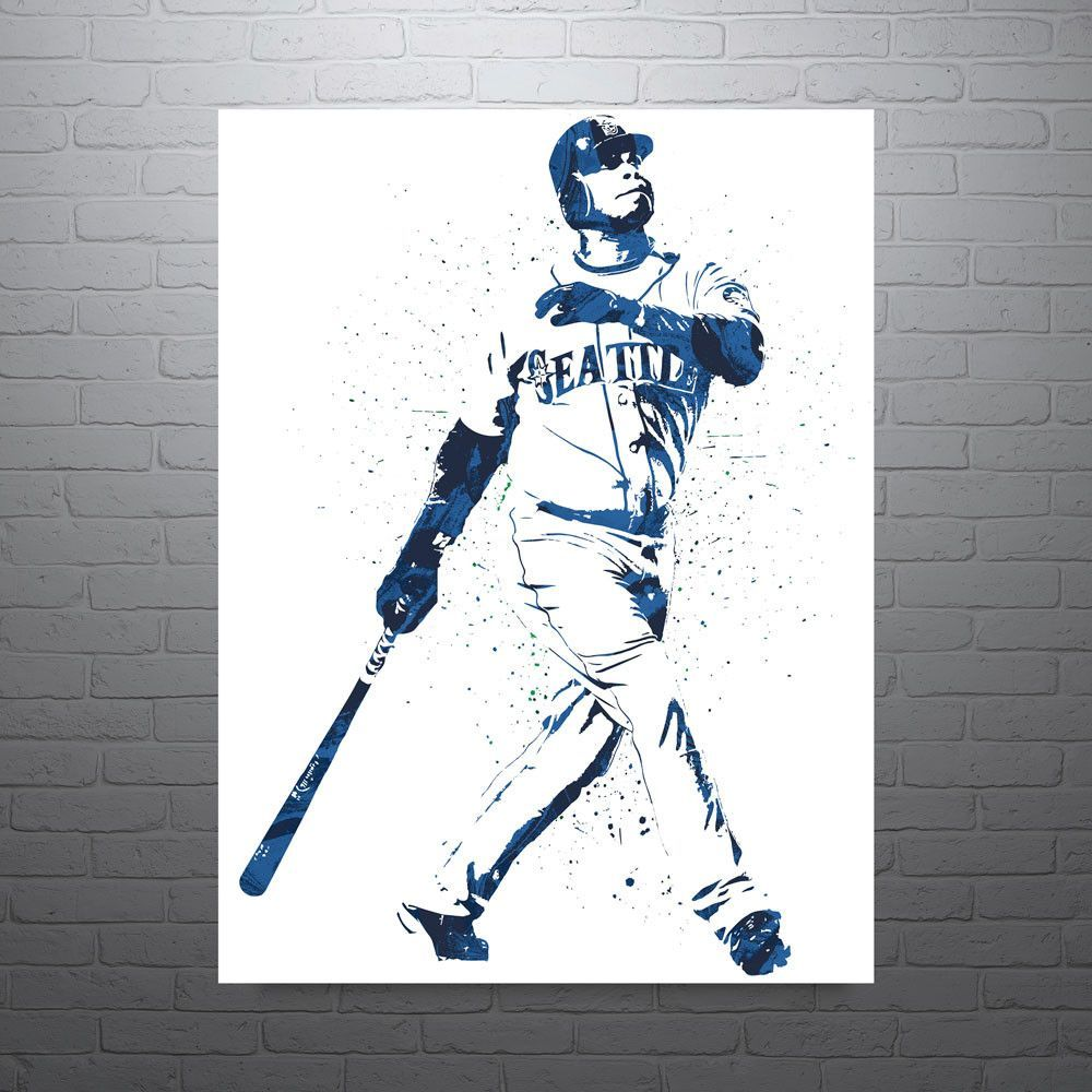 6f0db5567d Ken Griffey Jr Seattle Mariners Poster | The Kid | Ken griffey ...