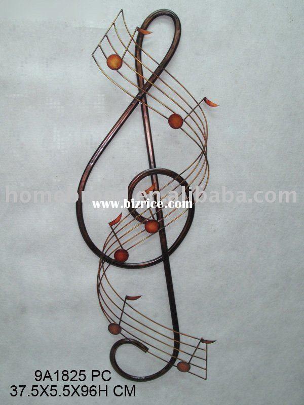 Metal Musical Instrument Wall Art Music Wall Art Music Artwork Musical Art