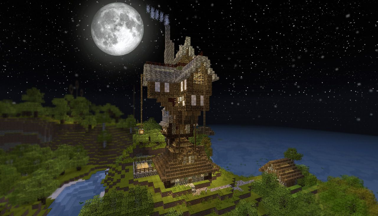 Minecraft build of the Burrow so cool  I was so shocked when I saw