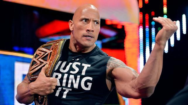 THE ROCK.....JUST BRING IT!!! | Wwe the rock, The rock dwayne johnson, Dwayne  johnson