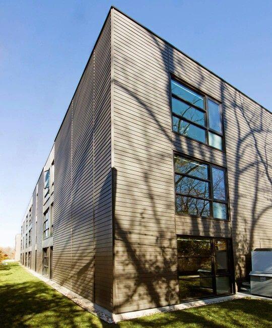 Irvington Lofts Lap Style Siding Dark And Dark Trim Dark Trim Irvington Story House