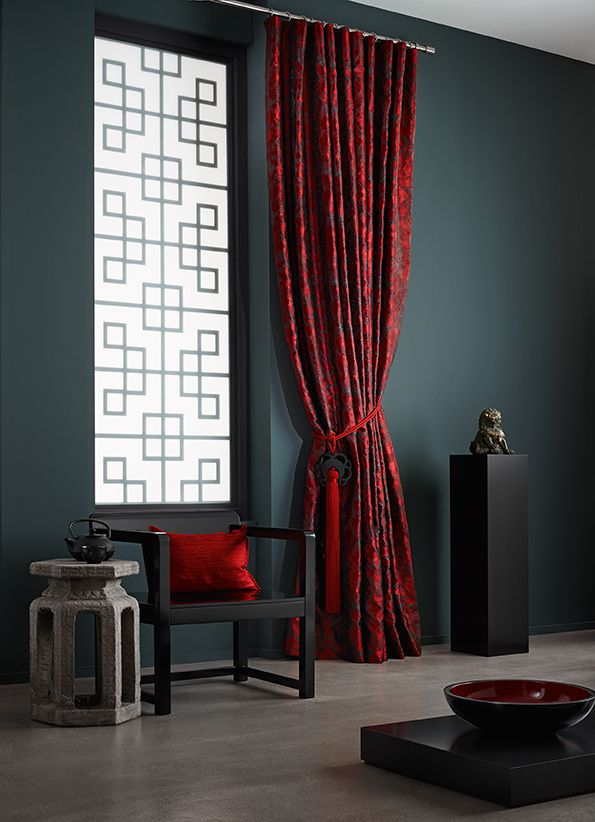 Collection Shanghai Sahco By Modern Chinese Interior Asian Window Curtains