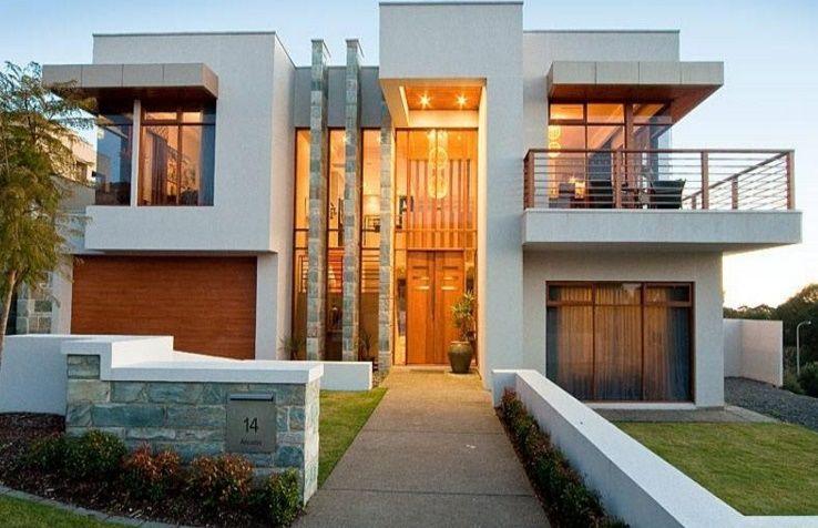 Diseños para casas | planos de casas modernas | Pinterest | Planos ...