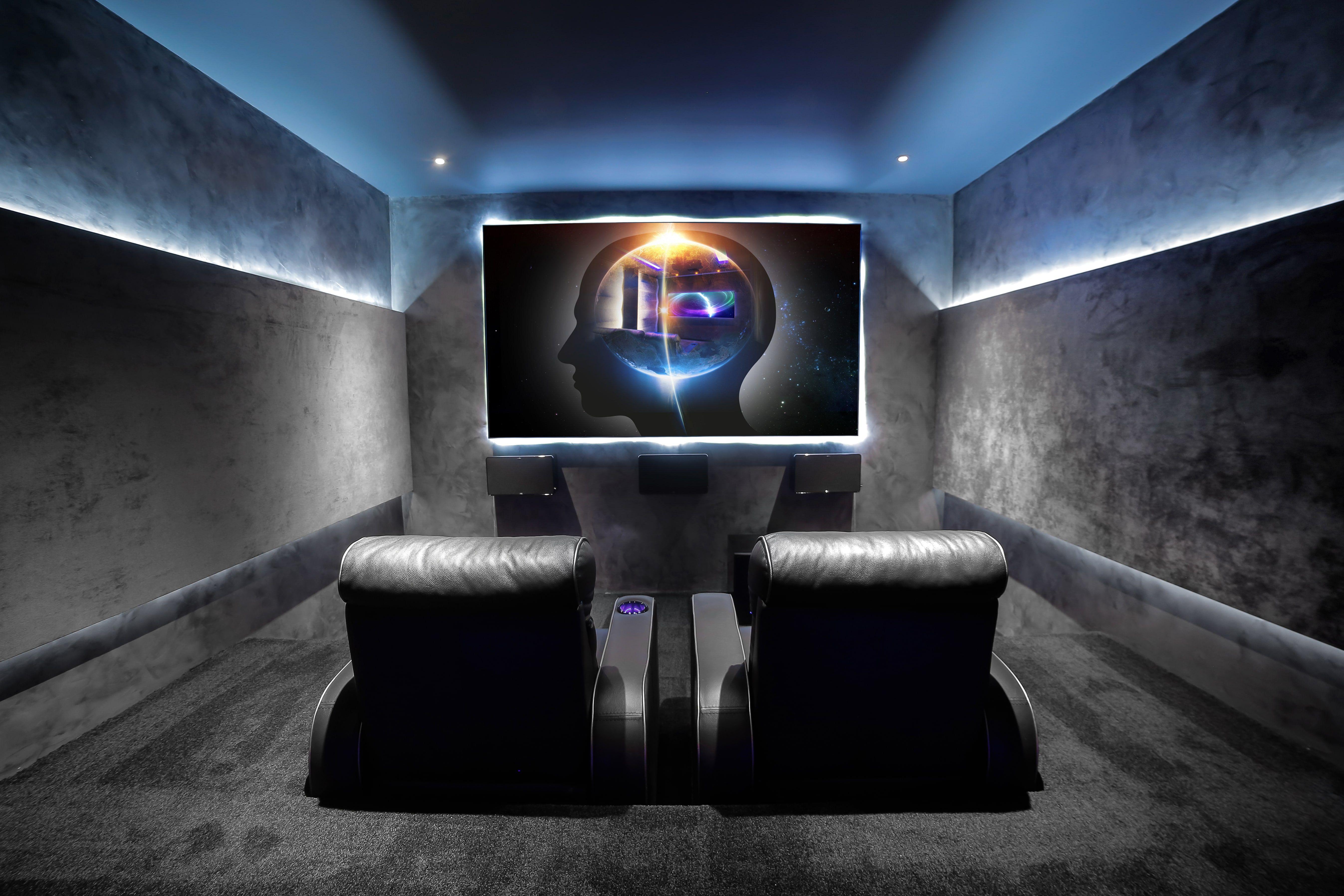 Playing With Home Cinema Lighting System Cinema Room