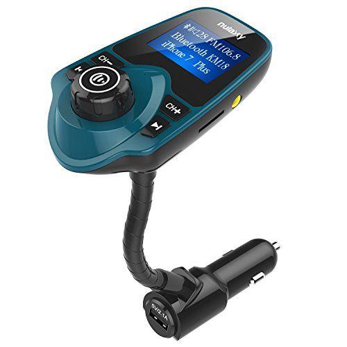 Nulaxy Wireless In Car Bluetooth Fm Transmitter Radio Ada Https Www Amazon Com Dp B01n0oh8vl Ref Cm Sw R Pi Dp X V Car Usb Car Bluetooth Fm Transmitters