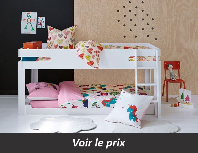 Lit Superpose Enfant Quel Modele Choisir Pour Gagner En Place Lits Superposes Bas Lit Mezzanine Deco Chambre Enfant