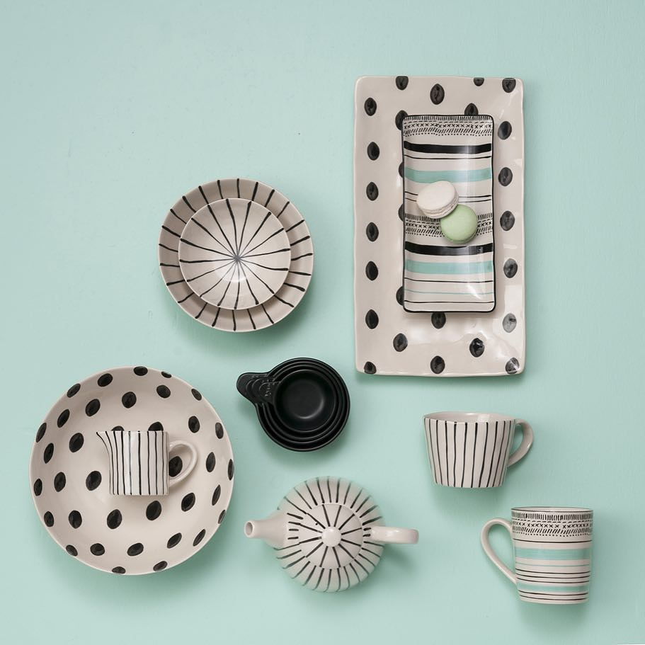 General Eclectic tableware is in now .... Just love this combo on the mint green #generaleclectic #mintgreen #stfdnz #shutthefrontdoorstore