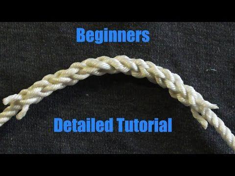 Beginner friendly splicing how to splice three stranded rope beginner friendly splicing how to splice three stranded rope together youtube fandeluxe Gallery