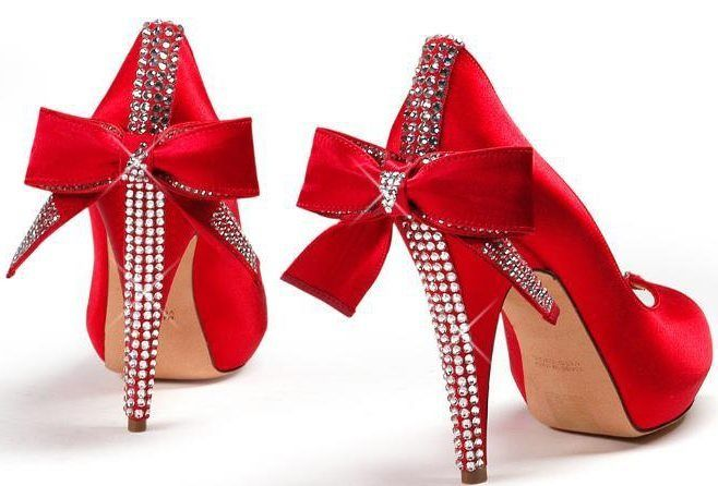 1000  images about Red high heels on Pinterest