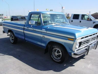 1976 ford truck auction 110848072470 very nice 1976. Black Bedroom Furniture Sets. Home Design Ideas