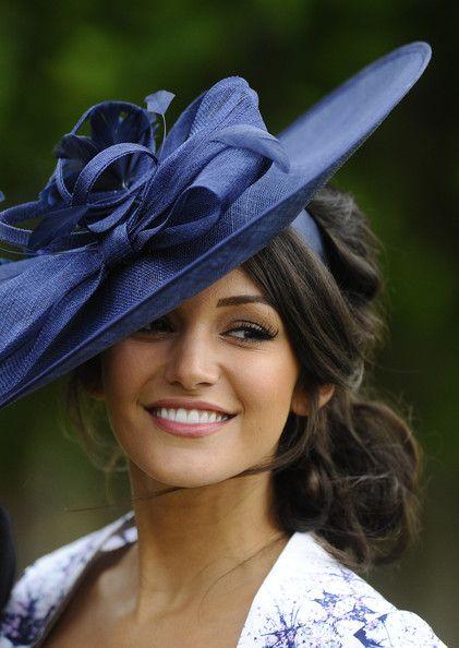 Michelle Keegan The Dubai Duty Free Irish Derby Fascinator Hairstyles Hat Bridal