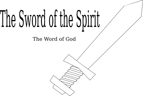 Sword Of The Spirit Template Sword Of The Spirit Clip Art Sunday School Coloring Pages