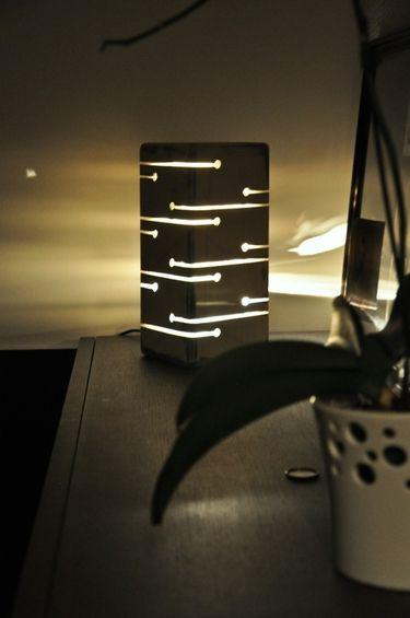 Estonian Wooden Night Lamp