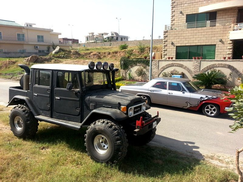Fj Built By Hand In Pakistan Land Cruiser Toyota Fj40 Fj Cruiser