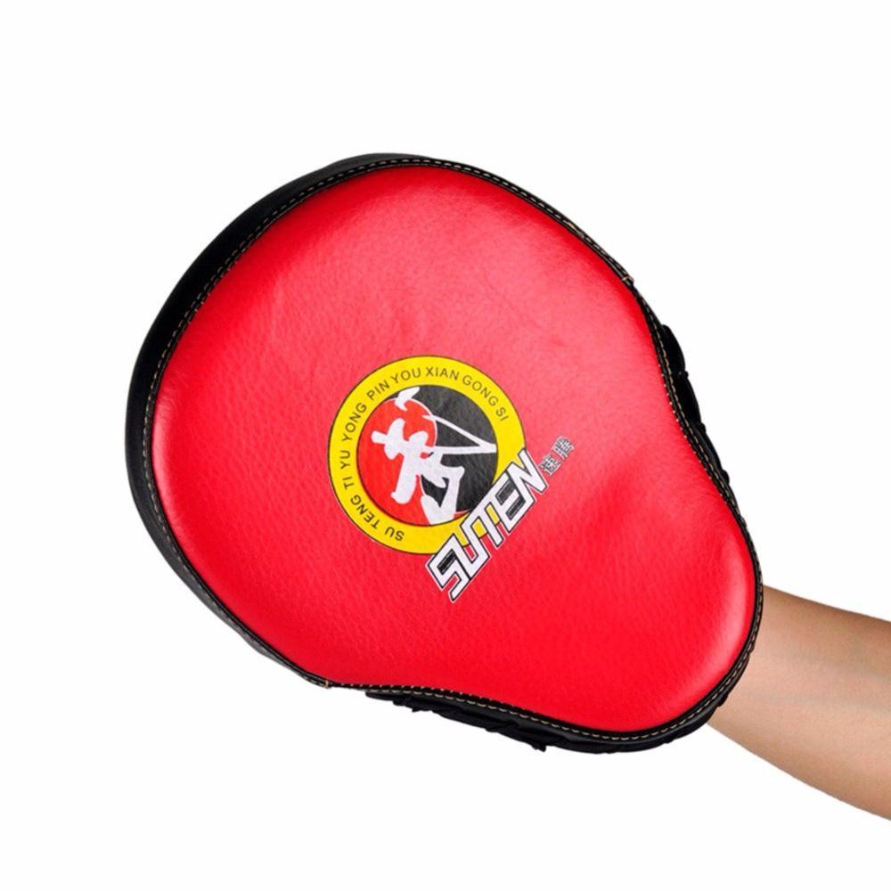 1 PC Taekwondo Kick Pad Durable PU Leather Training Target for Kickboxing Karate