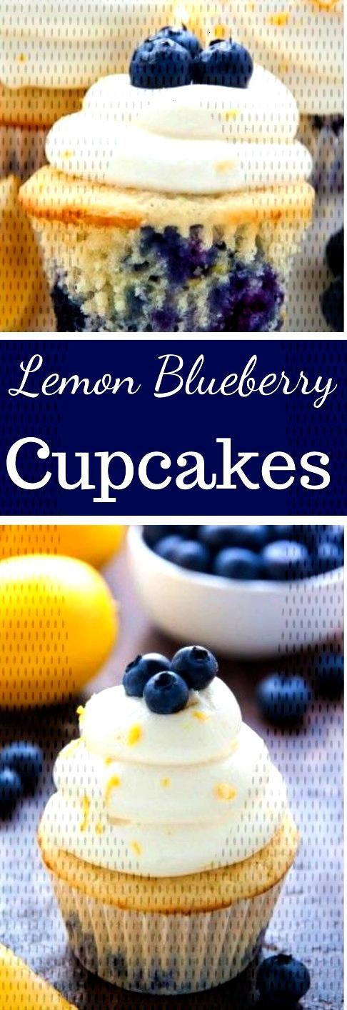 Lemon Blueberry Cupcakes