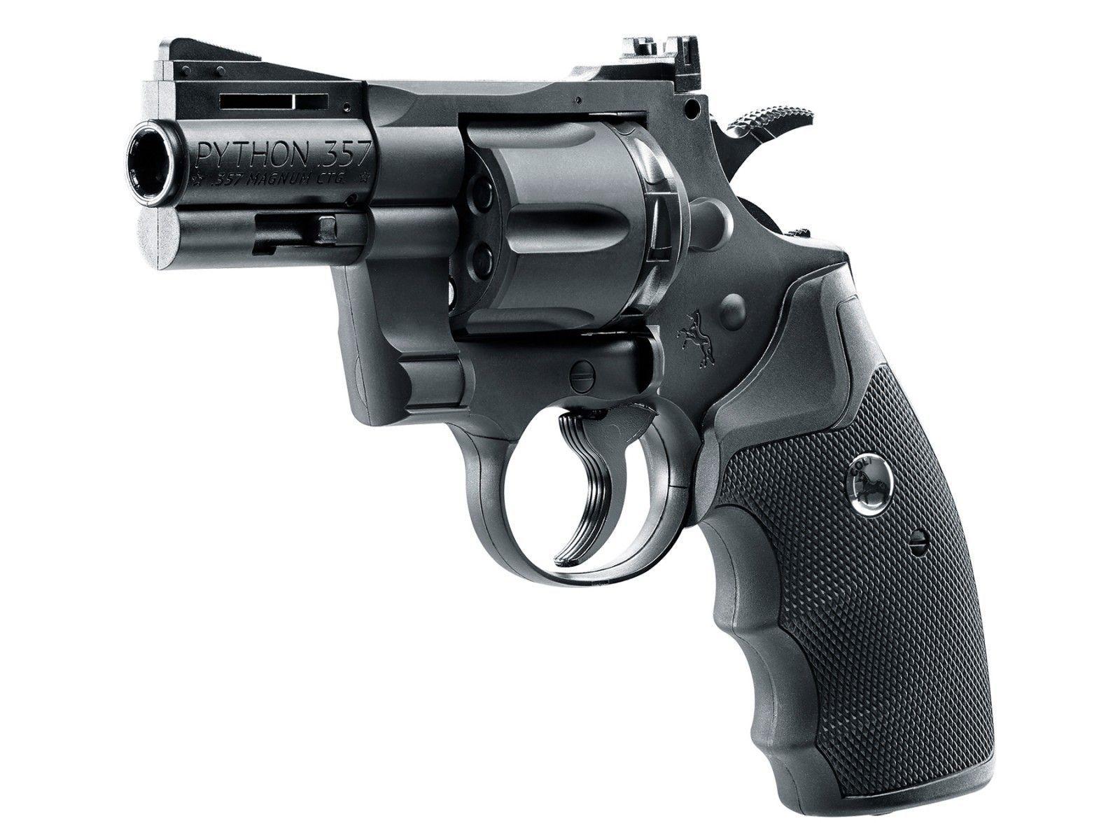 Colt Python 2 5  357 CO2 Pellet/BB Revolver  Air guns | Pyramyd Air