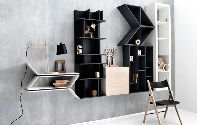 Boconcept Bookcase: Wall Decoration By BoConcept