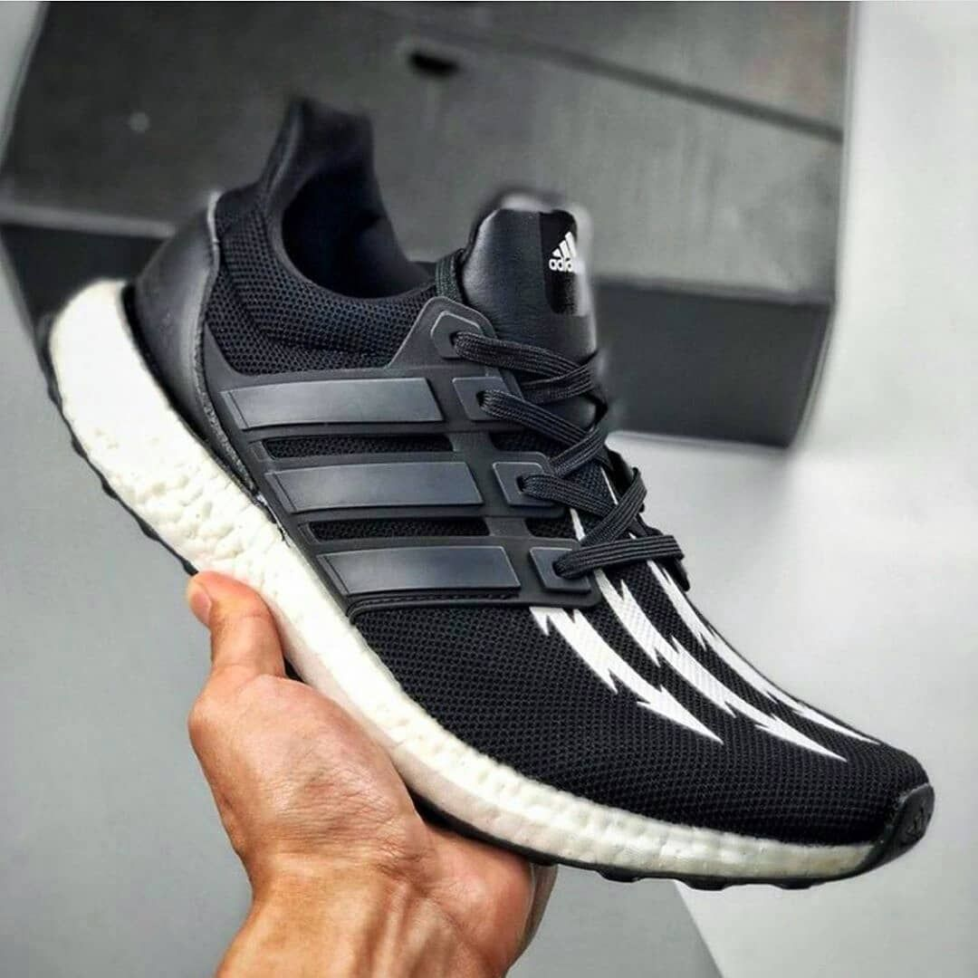 "❤NEW IN ✅ . Adidas Ultra Boost x Neighborhod ""Black White"" Premium Original . Rp.650.000.- (Include..."