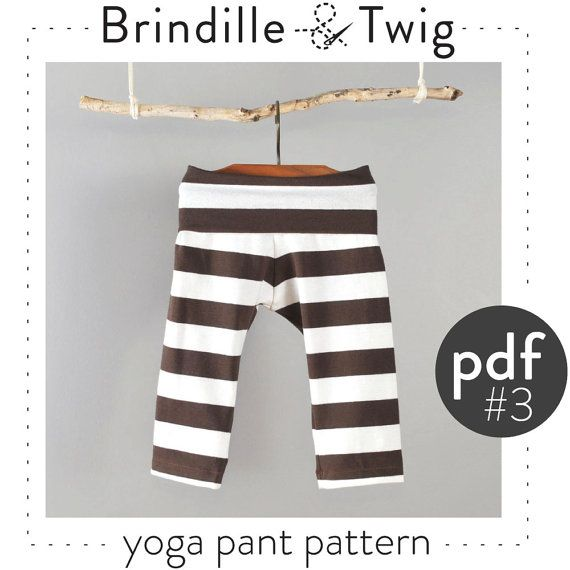 Baby Yoga Pants Pdf Pattern // Photo Tutorial // Preemie
