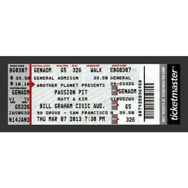 Redesigning Concert Tickets Liked On Polyvore Featuring Fillers Accessories Tickets Extra And Items Concert Tickets Concert Ticket