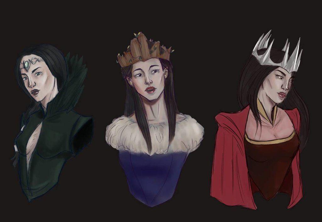 Bildresultat för three dark crowns art