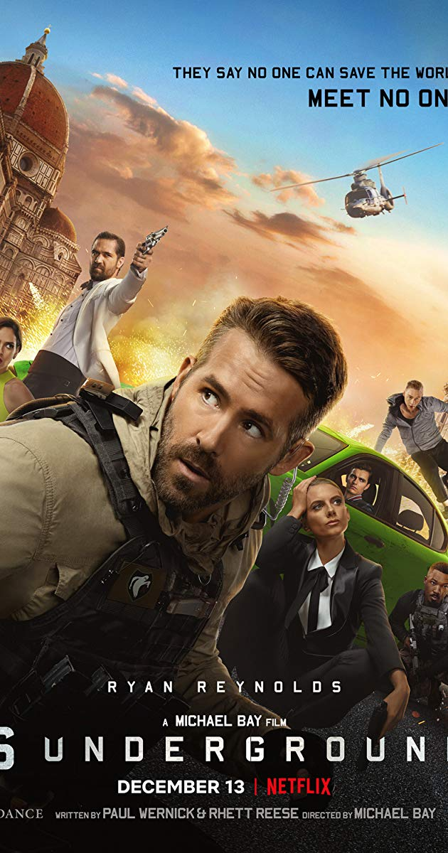 Directed by Michael Bay. With Ryan Reynolds, Mélanie