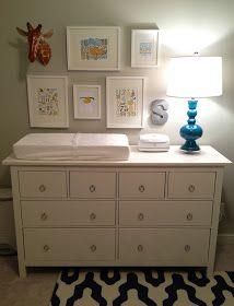 Sam S Nursery Start To Finish Baby Changing Tables Baby Dresser Nursery Dresser