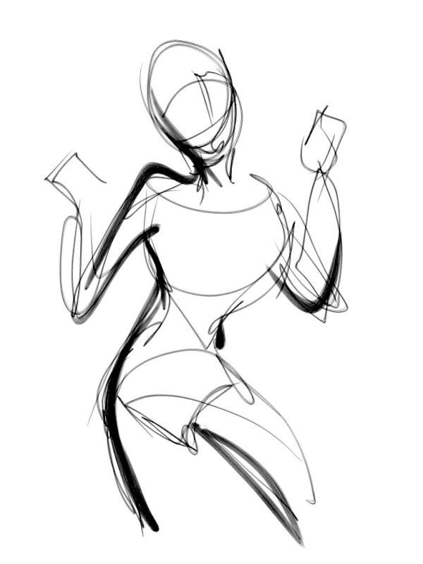 Scribble Line Gesture Drawing : Gesture drawing art and inspiration how to s
