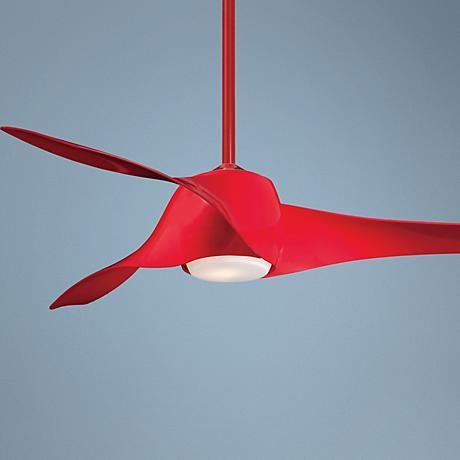 58 Artemis High Pure Red Ceiling Fan 02909 Ceiling Fan Red