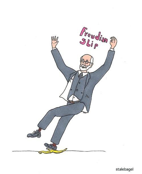 freudian slip | Psychology humor, Therapy humor