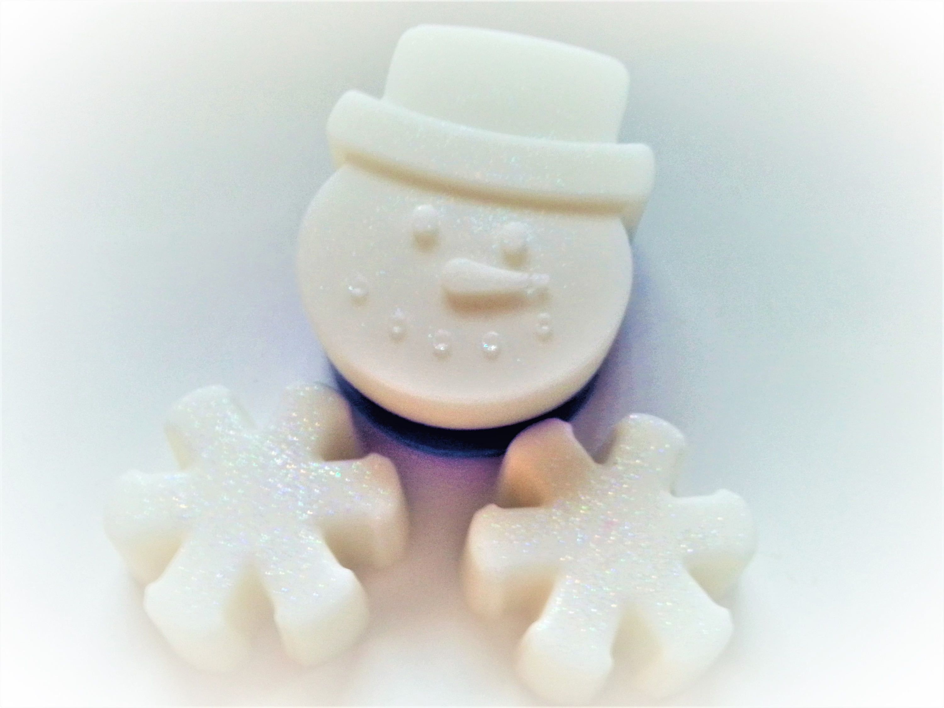 Snowman Snowflake Soap Set Party Favors, Winter Wedding Favors ...