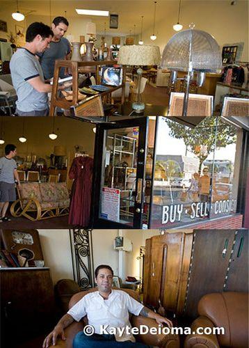 Shopping For Treasures On Retro Row In Long Beach Vintage Wardrobe