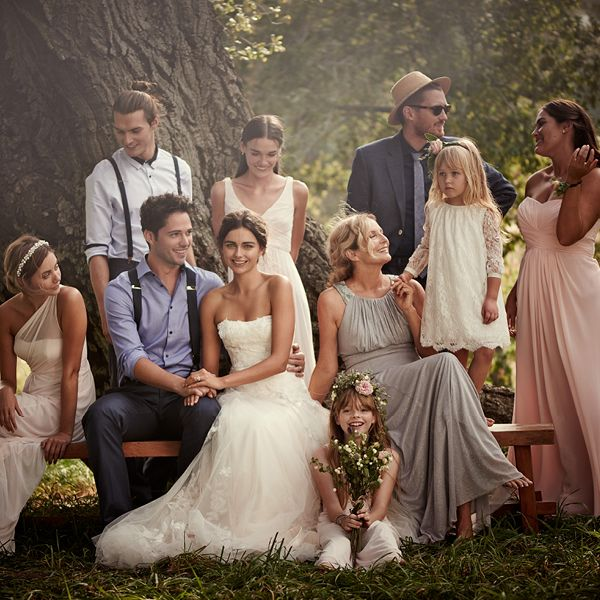 Find pretty boho looks for every member of your bridal party at David's Bridal. @weddingwire