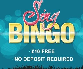 Free-Lucky-Bingo.com :. Site, News and Latest Bingo and Scratchcard Offers, Get your Free 10 Pounds from Sing Bingo!
