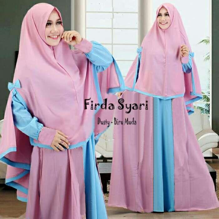 Warna Jilbab Untuk Baju Pink Muda