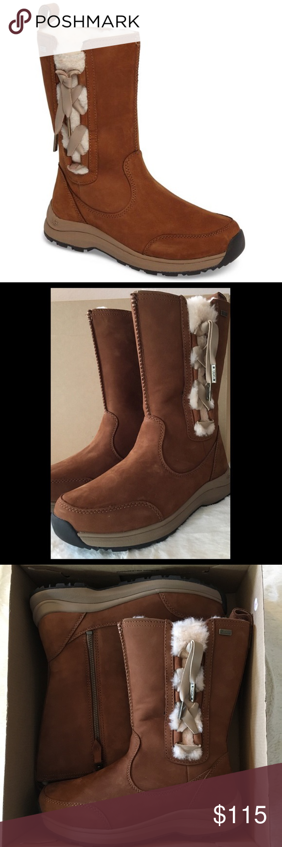 4ead9e20d1d Ugg Suvi Winter Boot in Chestnut BNIB Ugg winter boot with zipper ...