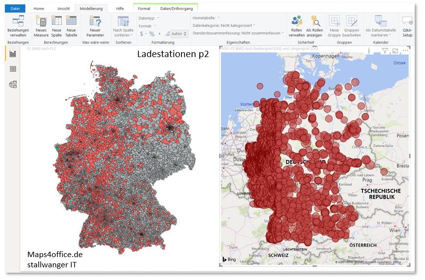deutschlandkarte auto Power BI und Excel   Vorteile und Nachteile in der Praxis in 2020